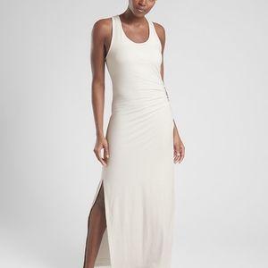 NWT Atleta Playa Maxi Dress Calla Lily White XS